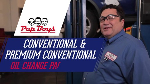 Conventional & Premium Conventional Oil Change - Pep Boys - image 1 from the video