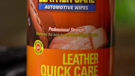 Lexol Ultimate Leather Quick Care - image 1 from the video
