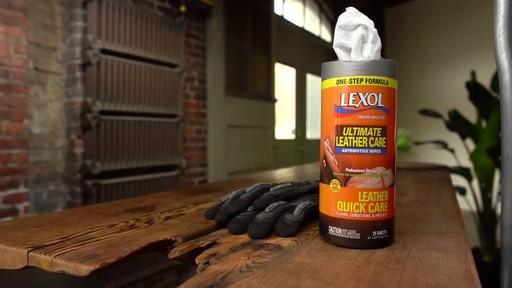 Lexol Ultimate Leather Quick Care - image 9 from the video