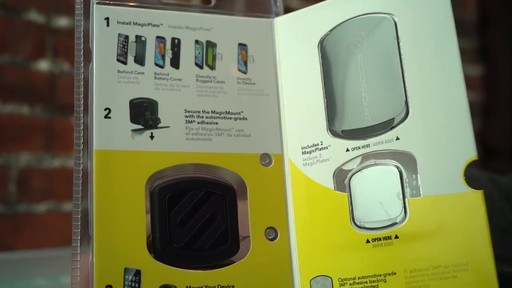 Scosche Magnetic Window Mount  - image 3 from the video