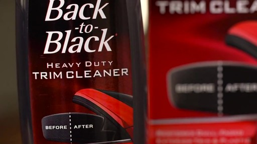 Mothers Back to Black Heavy Duty Trim Cleaner  - image 1 from the video