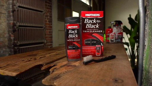 Mothers Back to Black Heavy Duty Trim Cleaner  - image 10 from the video