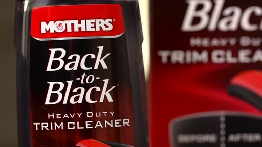 Mothers Back to Black Heavy Duty Trim Cleaner  - image 2 from the video