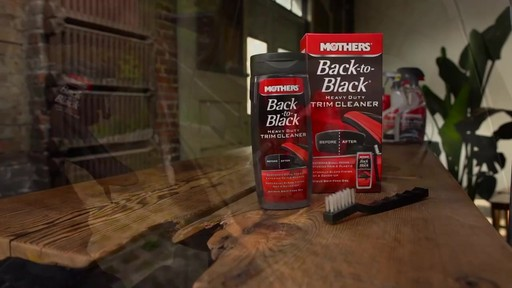 Mothers Back to Black Heavy Duty Trim Cleaner  - image 8 from the video