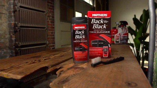 Mothers Back to Black Heavy Duty Trim Cleaner  - image 9 from the video