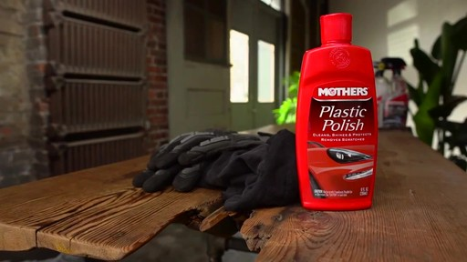 Mothers Plastic Polish - image 10 from the video