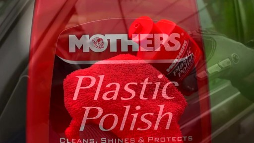 Mothers Plastic Polish - image 3 from the video