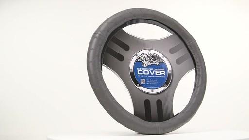 West Coast Customs Grey Steering Wheel Cover 187 Steering