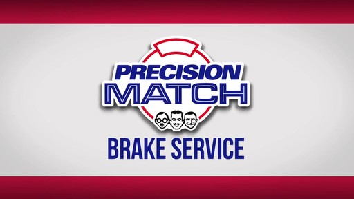 Precision Match Brake Service - image 10 from the video
