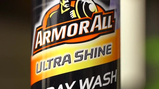 Armor All Ultra Shine Spray Wash - image 3 from the video