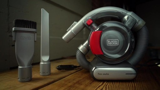 Black & Decker Dust Buster 12V Pivoting Vacuum - image 2 from the video