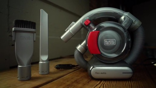 Black & Decker Dust Buster 12V Pivoting Vacuum - image 9 from the video
