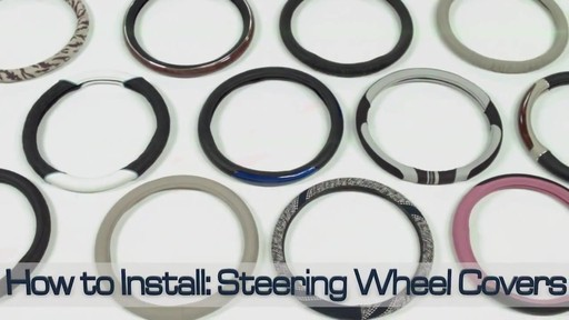 How to Install Steering Wheel Covers - image 1 from the video
