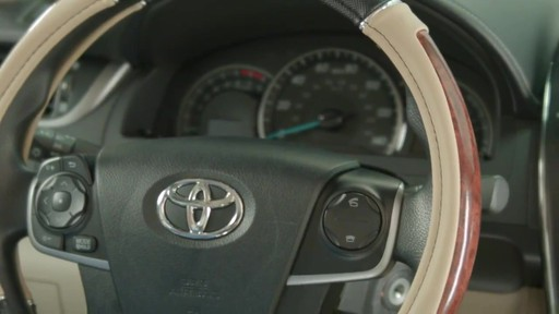 How to Install Steering Wheel Covers - image 10 from the video