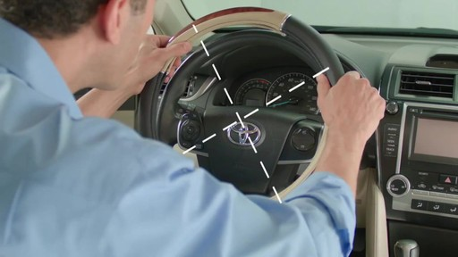 How to Install Steering Wheel Covers - image 2 from the video