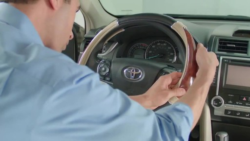 How to Install Steering Wheel Covers - image 4 from the video