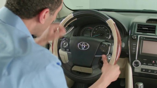 How to Install Steering Wheel Covers - image 8 from the video