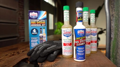 Lucas Oil Complete Fuel System Renewal Kit - image 9 from the video