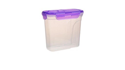 Case of Sure Fresh Dry Food Storage Containers with Clip Lock Lids
