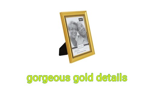 Case of Special Moments Beaded Inner Edge Gold Plastic Picture ...