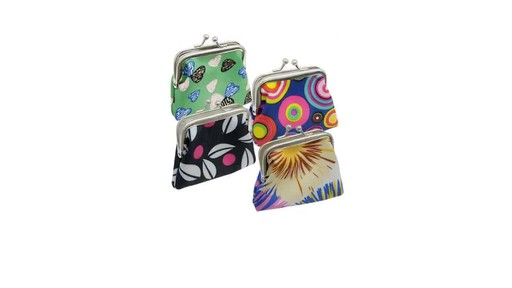 Case Of Trendy Polyester Coin Purses 36 Units 187 Dollar