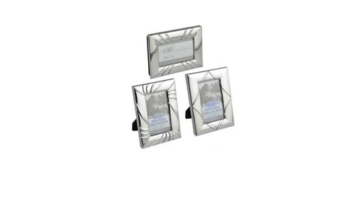 Case of Mini Silver-Toned Picture Frames (12 units) » Dollar Tree ...