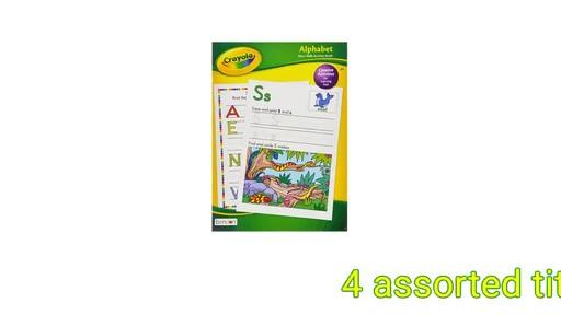 case of crayola basic skills activity books 24 units dollar tree