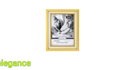 Case Of Special Moments Two Tone Matted Gold Plastic