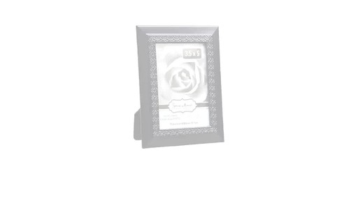 Case Of Special Moments Embossed Wide Edge Black Plastic