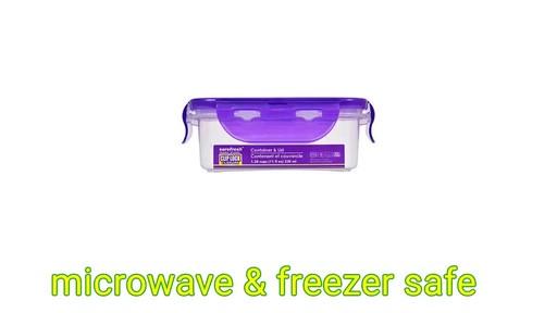 Case Of Sure Fresh 11 Oz Square Plastic Food Storage
