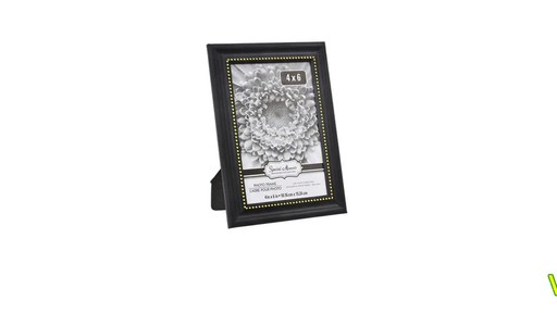 Case Of Special Moments Black Plastic Picture Frames With