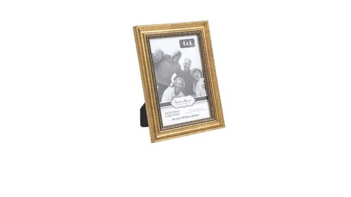 Case Of Special Moments Etched Inner Edge Gold Plastic