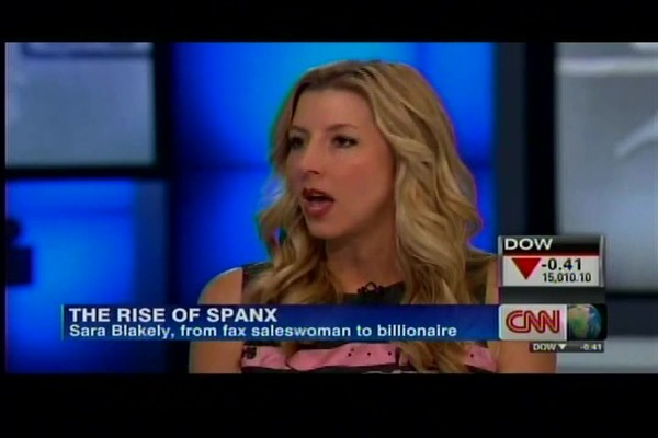 SPANX Founder Sara Blakely on CNN - image 1 from the video