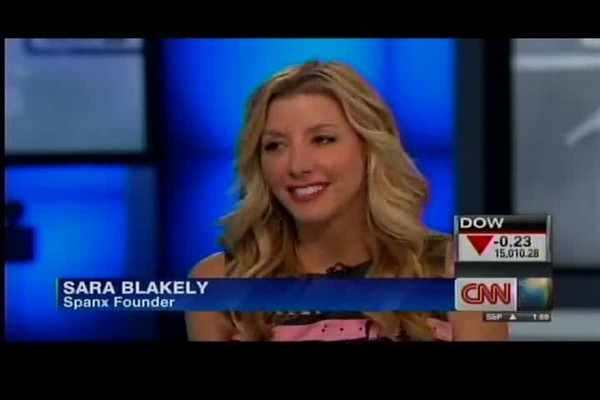 SPANX Founder Sara Blakely on CNN - image 2 from the video