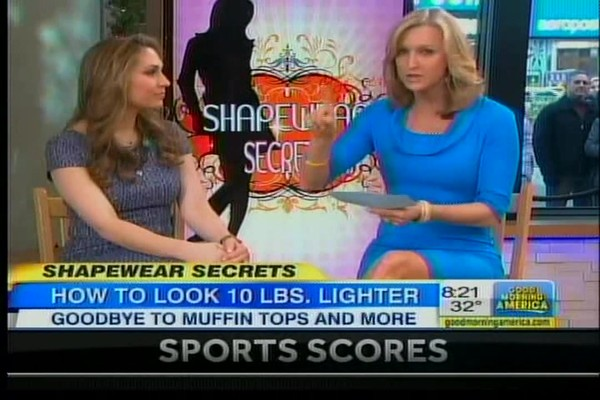 Bra-vo Back-Smoothing Bra on Good Morning America! - image 3 from the video