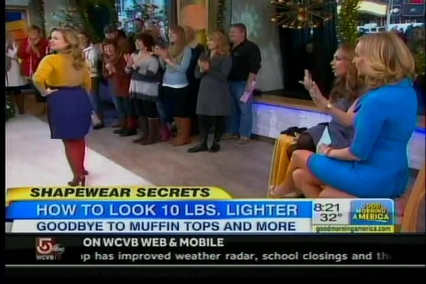 Bra-vo Back-Smoothing Bra on Good Morning America! - image 6 from the video