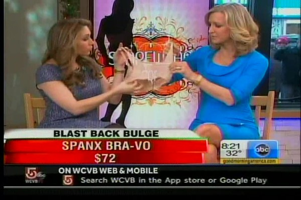 Bra-vo Back-Smoothing Bra on Good Morning America! - image 8 from the video