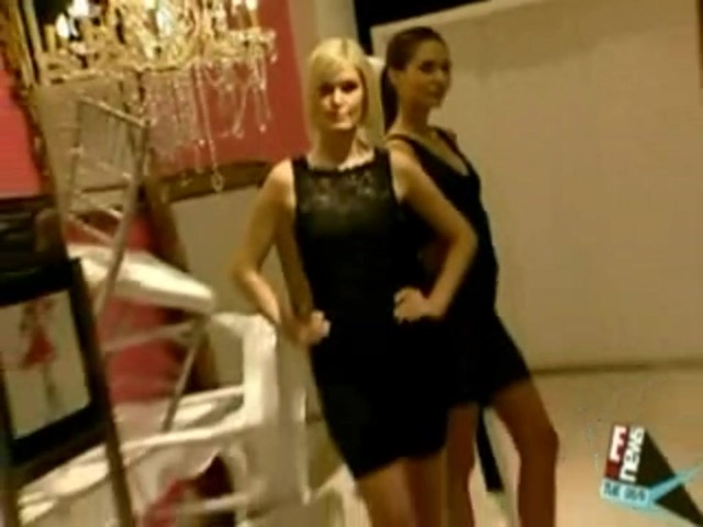 Sara with Haute Contour on E! News - image 4 from the video
