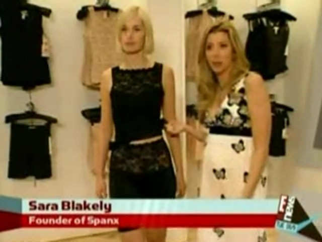 Sara with Haute Contour on E! News - image 7 from the video