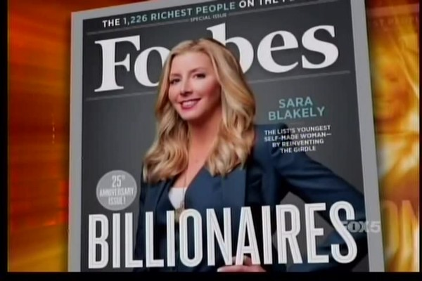 Sara Blakely on Inside Edition - image 2 from the video