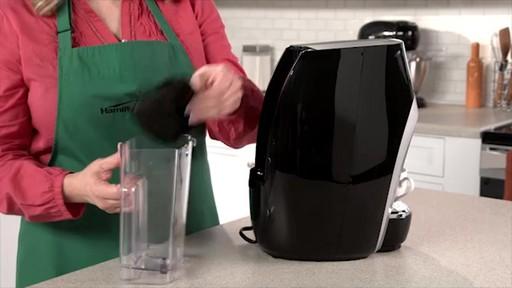 Coffee oil press machine