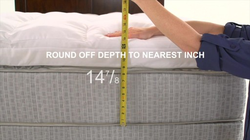 How to Measure For Custom Sheets - image 5 from the video