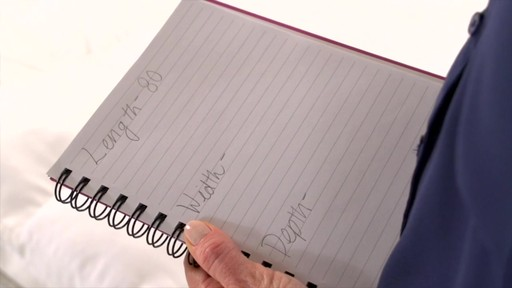 How to Measure For Custom Sheets - image 6 from the video