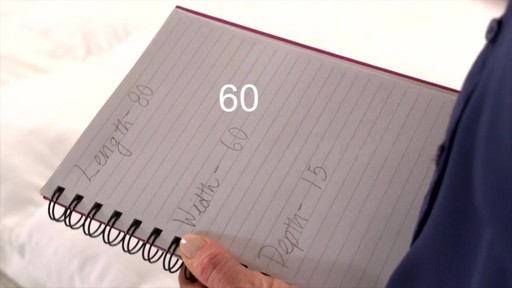 How to Measure For Custom Sheets - image 8 from the video