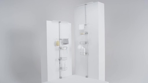 simplehuman stainless steel tension shower caddy bed bath