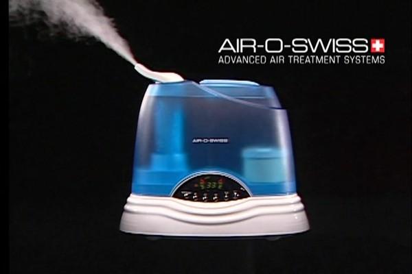 Air O Swiss Ultrasonic Digital Humidifier   image 2 from the video. Air O Swiss Ultrasonic Digital Humidifier   Bed Bath   Beyond Video