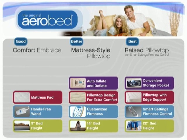 Aerobed Products - image 10 from the video