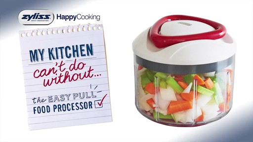 Zyliss 174 Easy Pull Food Processor 187 Bed Bath Amp Beyond Video