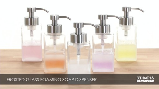 Foaming Soap Dispenser - image 1 from the video