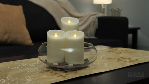 Candle Impressions Mirage Led Candles With Timer 187 Bed